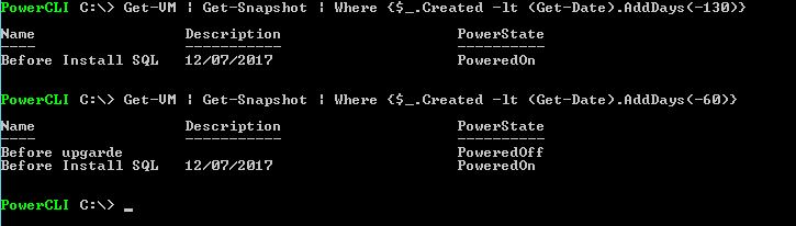 Snapshot Management with Power CLI