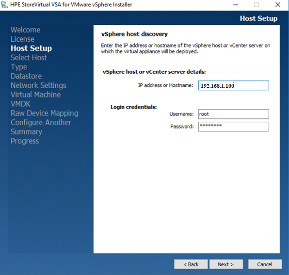 HP StoreVirtual Storage VSA Installtion & Configuration - PART 1