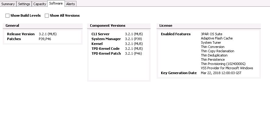 How to Install or Update the License on 3PAR Storage System