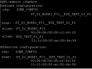 How to create zones from CLI on a Brocade SAN Switch