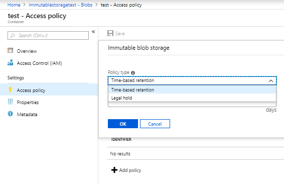 Immutable Storage for Azure Storage Blobs Available Now