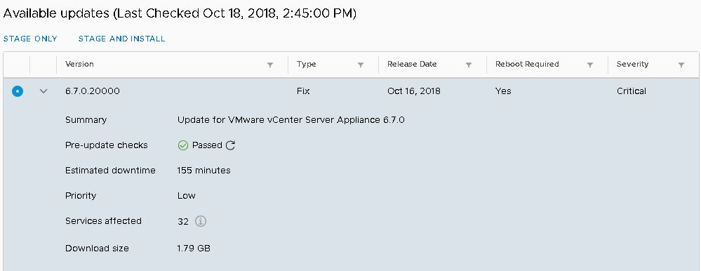 How to Update / Patch VMware vCenter Server Appliance (VCSA
