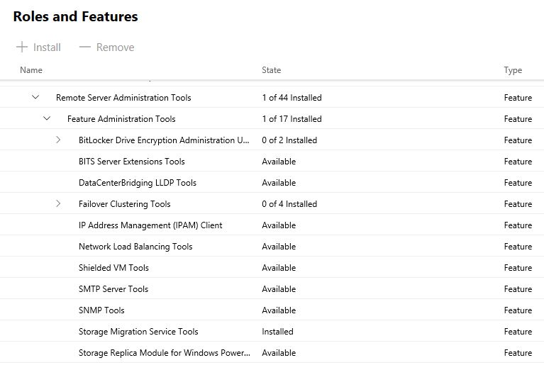 Storage Migration Admin Center -05
