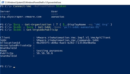 PowerCLI for VMware Cloud on AWS