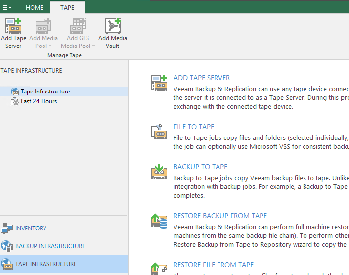Configure Veeam Backup and Replication 9 5 Tape Backup In