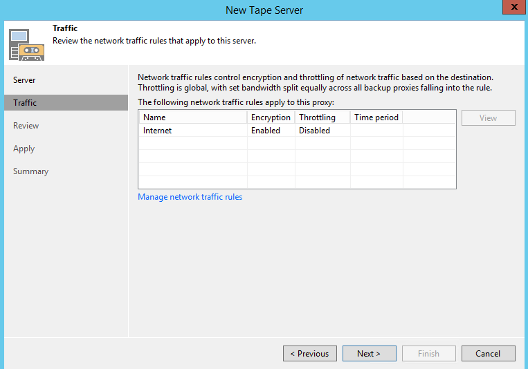 Veeam Export Tape