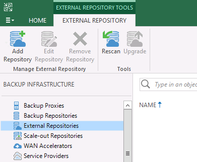 How to Configure External Repository In Veeam Backup
