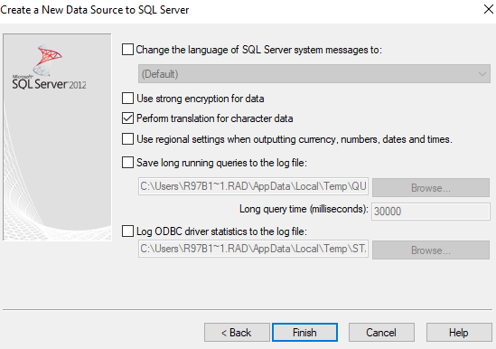 How to Configure ODBC Connection to the Azure SQL Database