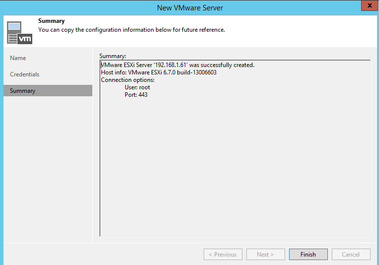 Protect Your vSphere 6 7 U2 Infrastructure With Veeam Backup