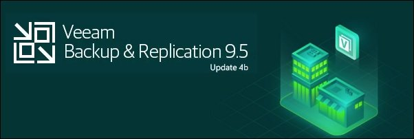 Veeam Backup & Replication 9 5 Update 4b Released
