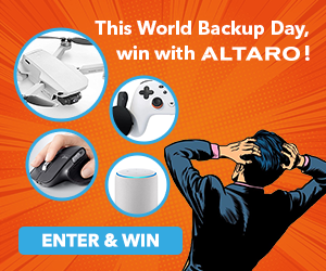 WIN with Altaro & Celebrate World Backup Day 2020