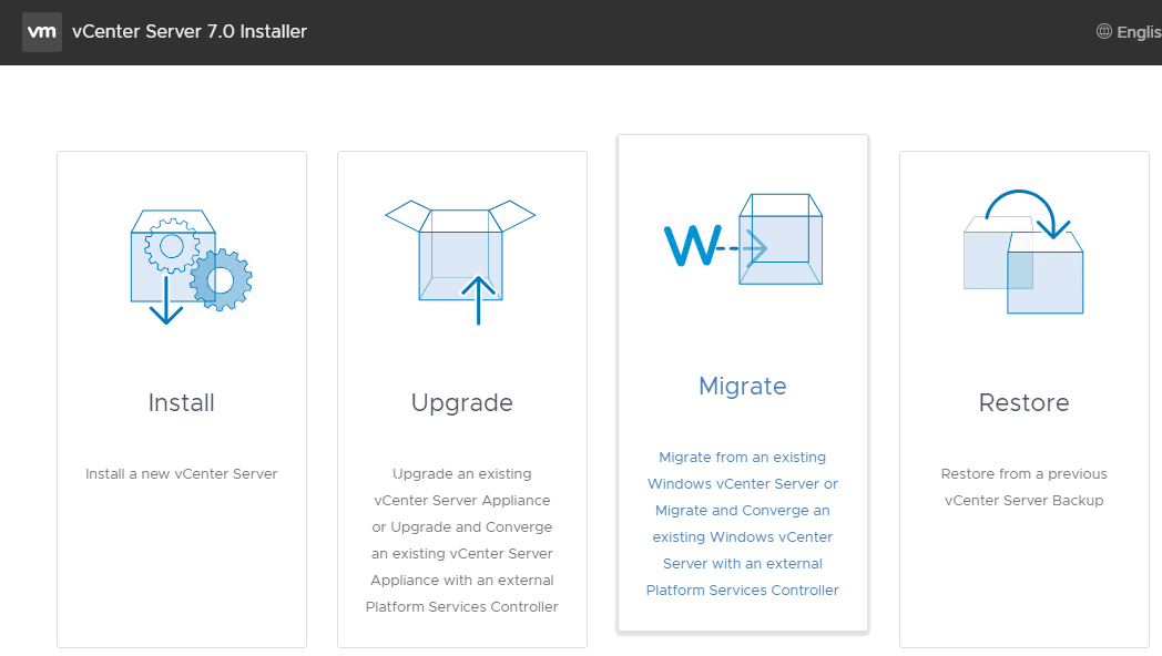 how to install VCSA 7.0 step by step