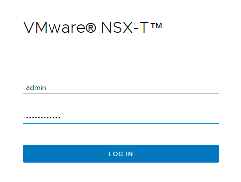 NSX-T 3.0 Installation Step by Step