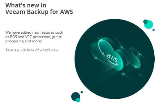 What Is New With Veeam Backup For AWS V3