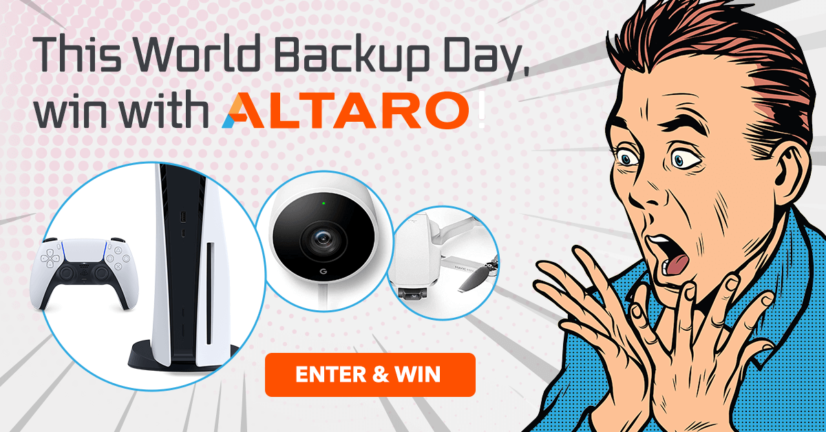 This World Backup Day, WIN with Altaro