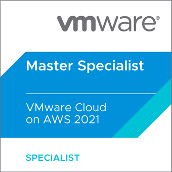 Master Specialist - VMware Cloud on AWS 2021